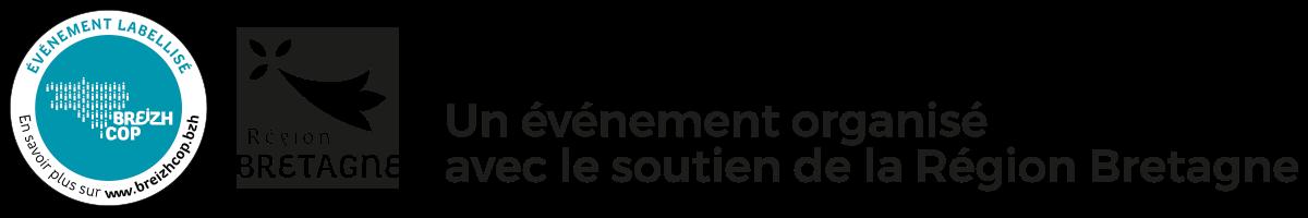 Un événement organisé avec le soutien de la région Bretagne